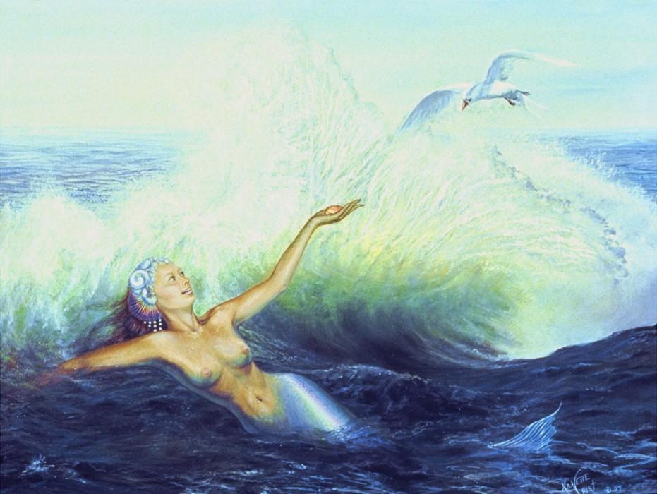 Antediluvian Mermaid